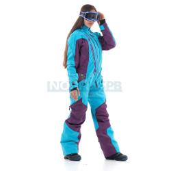 Комбинезон утепленный Dragonfly Extreme Woman, Purple-Blue