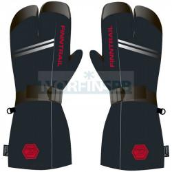 Перчатки Finntrail Lobster 2800 GraphiteRed_N