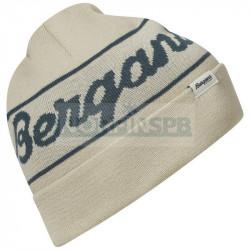 Шапка Bergans Logo Beanie, Sand/Orion Blue