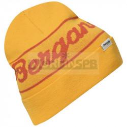 Шапка Bergans Logo Beanie, Light Golden Yellow/Brick
