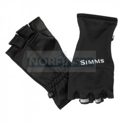 Перчатки Simms Freestone Half Finger Mitt, Black