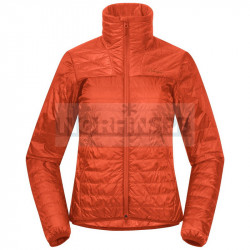 Куртка женская утепленная Bergans Roros Light Insulated Jacket, Fiesta
