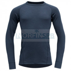 Футболка мужская с длинным рукавом Devold Duo Active Man Shirt, Ink