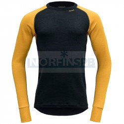 Футболка мужская с длинным рукавом Devold Expedition Man Shirt, ARROWWOOD/INK