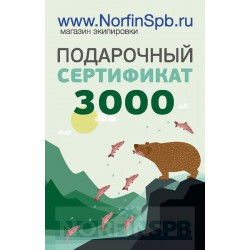 Подарочный сертификат на 3000 рублей