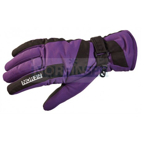 Женские перчатки Norfin Windstop Purple