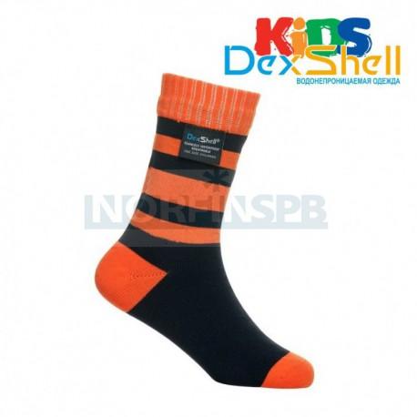 Носки детские водонепроницаемые Dexshell Children soсks orange