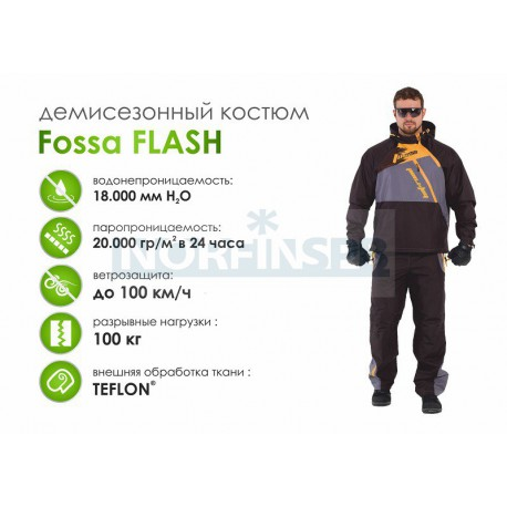 Летний костюм FOSSA FLASH