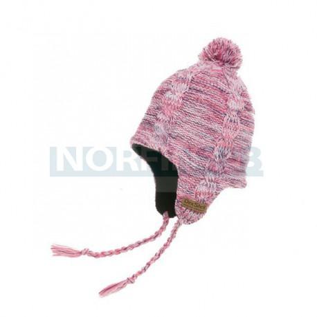 Водонепроницаемая шапка с веревками DexShell, розовая