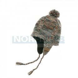 Водонепроницаемая шапка с веревками DexShell, коричневая