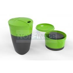 Кружка складная Light My Fire Pack-up-Cup, зеленая