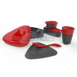 Набор посуды Light My Fire MealKit 2.0, красный