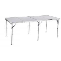 Стол складной Norfin GAULA-XL NF алюминиевый 180x80