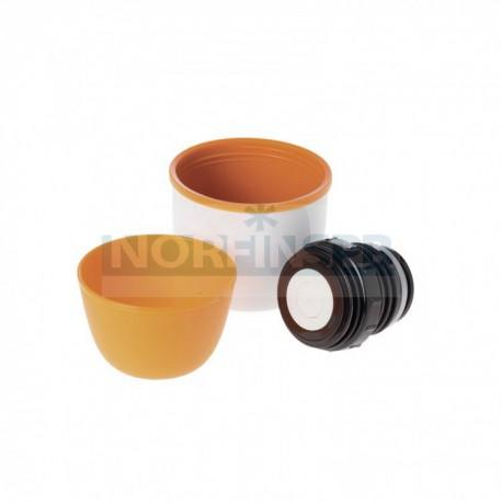 Термос Esbit POLAR бело-оранжевый, 1 л
