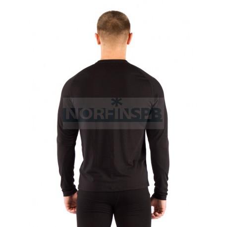 Термофутболка Lasting Atar, черная, шерсть 160