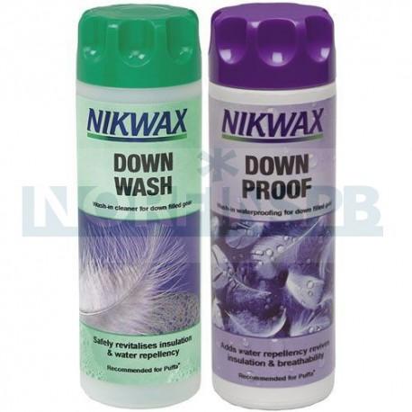 Набор Nikwax Twin Down Wash/Down Proof (300 мл)