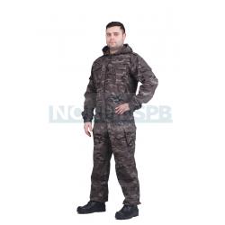 Летний костюм NOVATEX  Спецназ, черный мультикам
