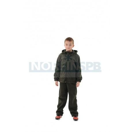 Детский флисовый костюм Novatex НИКС, хаки