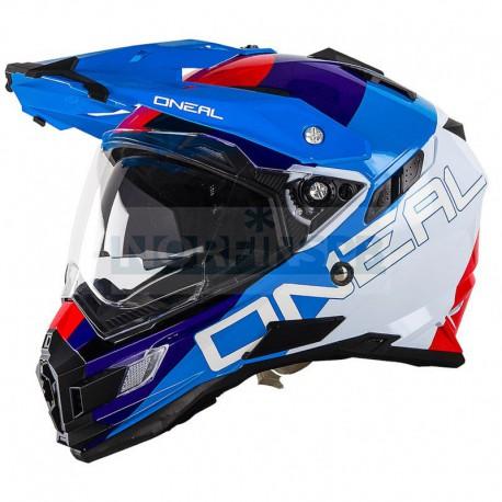 Шлем O`Neal Sierra Adventure Helmet EDGE красный/синий/белый