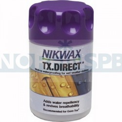 Водоотталкивающая пропитка для мембранных тканей Nikwax TX Direct Wash-in (100 мл)
