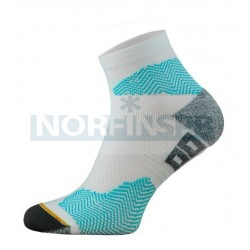 Носки Comodo RUN 1-04, white-turquesa