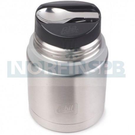 Термос для еды Esbit FJSP, с ложкой, стальной-серый, 0.75 л