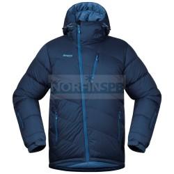 Пуховая куртка Bergans Fonna Down Jkt, Dark Steel Blue / Steel Blue