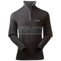 Джемпер Bergans Ulriken Jumper, Dark Grey Melange
