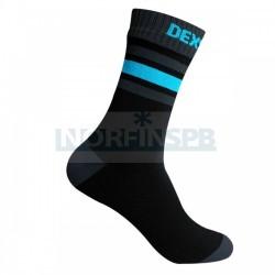 Водонепроницаемые носки DexShell Ultra Dri Sports Socks с голубой полосой