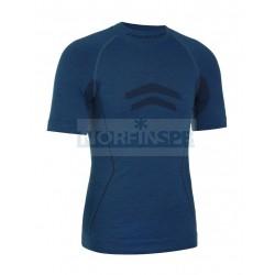 Термокофта с кор. рукавом FREENORD MERINO TECH, синий