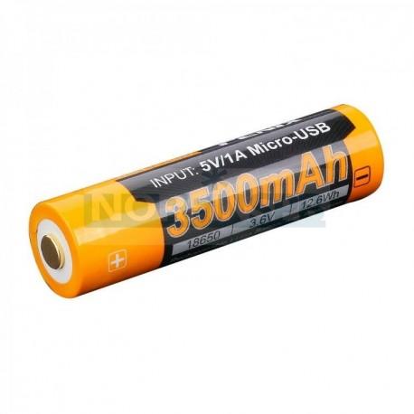 Аккумулятор Li-ion Fenix 18650, 3500 mAh