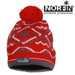 Женская шапка Norfin Woman Red