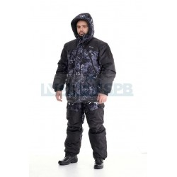 Зимний костюм Novatex Горка зима, черный питон