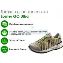 Треккинговые ботинки Lomer GO Ultra MTX, gray/yellow/black
