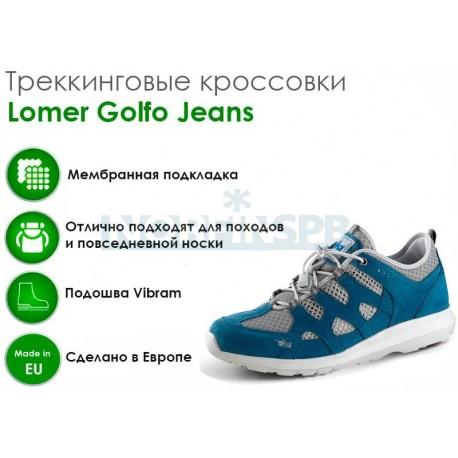 Треккинговые ботинки Lomer Golfo Jeans