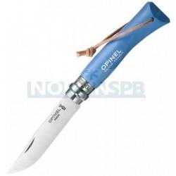 Нож Opinel №7 Trekking голубой