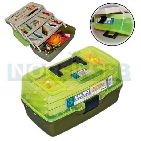 Ящик рыболовный пластиковый Salmo 3х-пол. 03 мал.