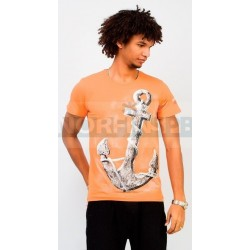 Футболка Triton Якорь, оранжевый