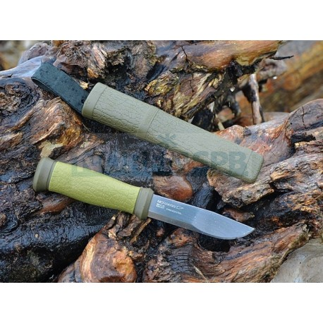 Набор Morakniv Outdoor Kit MG, нож Mora 2000 + топор, зеленый