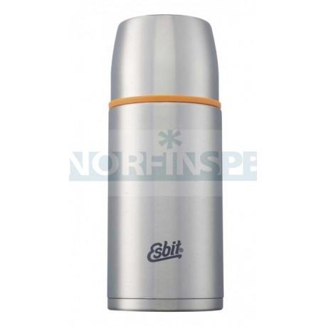 Термос Esbit ISO cтальной-оранжевый, 0,75 л
