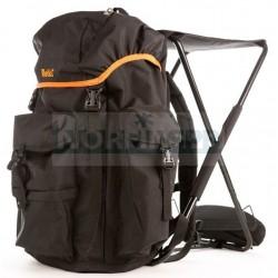 Рюкзак Retki Black Seatpack со встроенным стулом