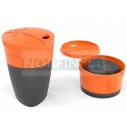 Кружка складная  Pack-up-Cup, оранжевый