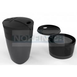 Кружка складная  Pack-up-Cup, черный