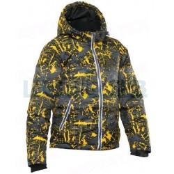 Детская куртка Novatex МАУГЛИ Мегаполис Зима, желтый