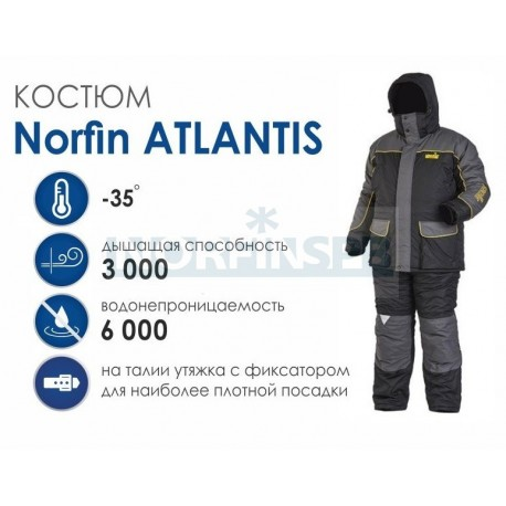 Зимний костюм Norfin Atlantis