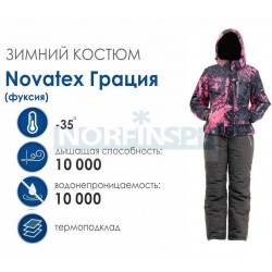 Женский костюм Novatex PAYER Грация, фуксия