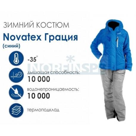 Женский костюм Novatex Грация, синий
