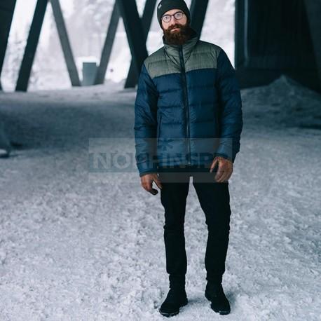 Куртка Bergans Oslo Down Light Jkt, Dk Navy Mel/Seaweed Mel