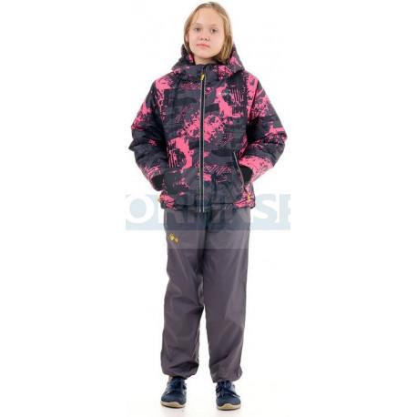Детская куртка NOVATEX Мегаполис Зима, фуксия