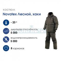 Костюм NOVATEX Лесной плащевая ткань, хаки